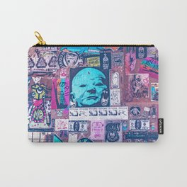 Seattle Post Alley Pop-Art Carry-All Pouch