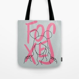 FOXES [3] Tote Bag