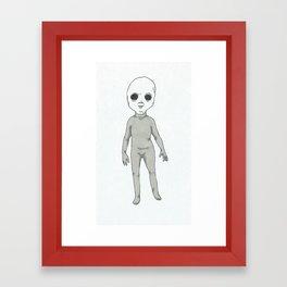 Extra Terrestrial Framed Art Print
