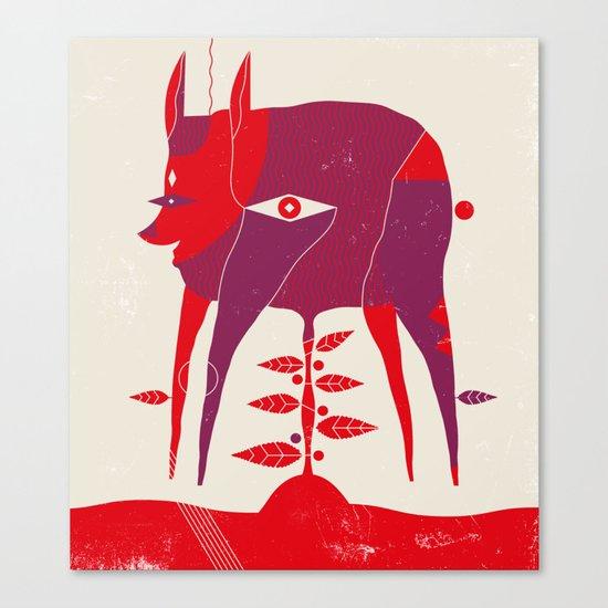 Vegetable Lamb of Tartary Canvas Print