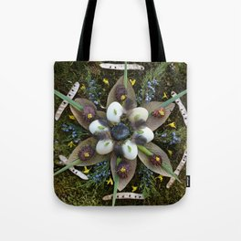Nature Mandala: March Tote Bag