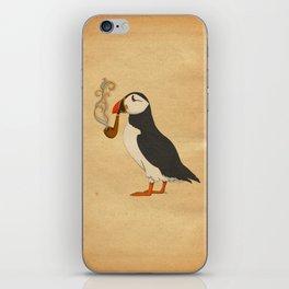 Puffin' iPhone Skin