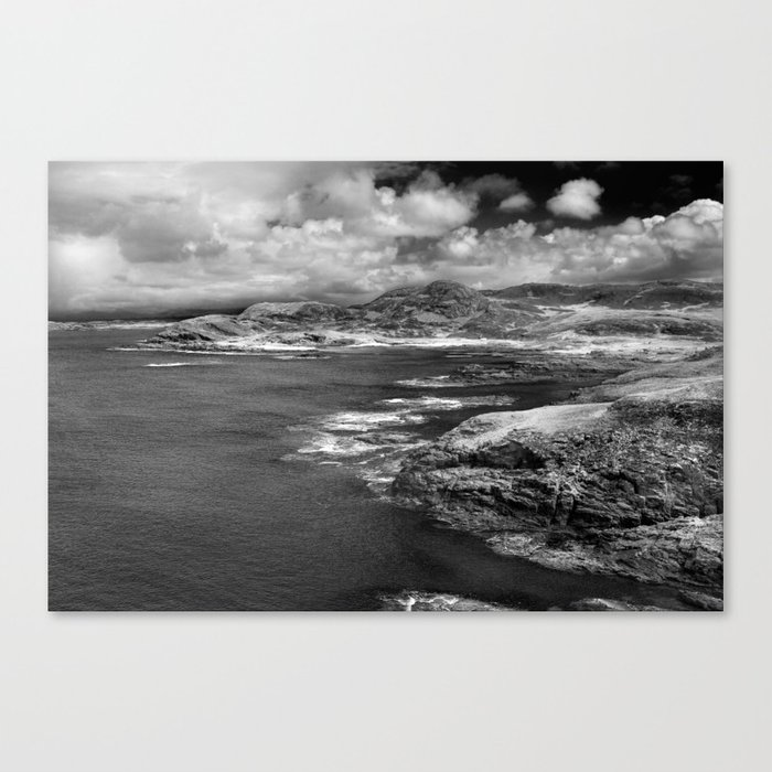 Scottish Bays Canvas Print