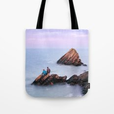 Fishing with Dad Tote Bag