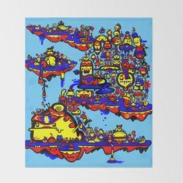 Slug City Throw Blanket