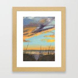 Anna Maria Island at Sunset Framed Art Print