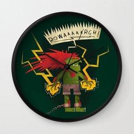 Electric Thunder Wall Clock