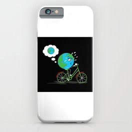 Round Earth Lose Weight iPhone Case