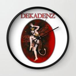 Dekadenz Dancing Devil Girl Wall Clock
