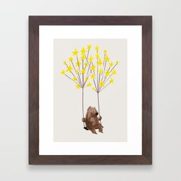 Stars Swing Framed Art Print