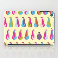 penguins iPad Cases featuring Penguins by Dana Martin