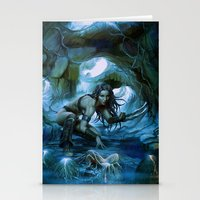predator Stationery Cards featuring Predator by va-sily