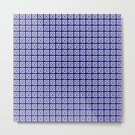 Antic pattern 4- greek labyrinth Metal Print