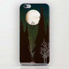 Into The Winter Woods iPhone & iPod Skin
