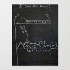JOE SAYS Canvas Print