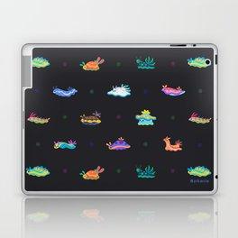 Sea slug - black Laptop & iPad Skin