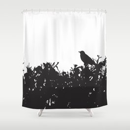 Hedge Life Shower Curtain