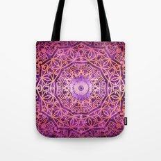 Mandala Pink Night Tote Bag