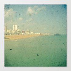 City by the Sea Canvas Print