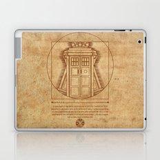 Vitruvian Tardis Laptop & iPad Skin