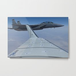 246. Green Aviation Project Tests Shape Changing Wing Flaps Metal Print