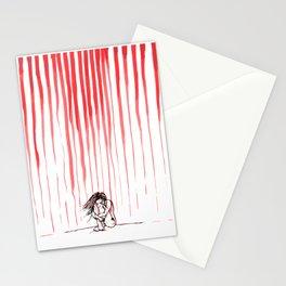 Blood Rain Stationery Cards