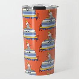 Princess Pea Orange Travel Mug