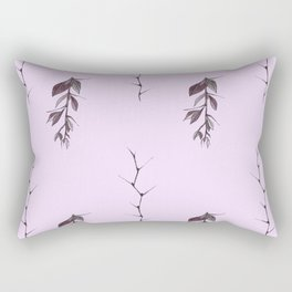 Sprigs of barberry and hawthorn Rectangular Pillow