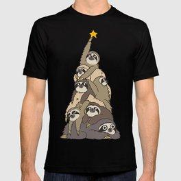 Christmas Tree  Sloths T-shirt