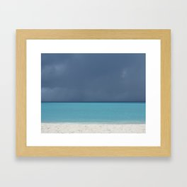 An Imminent Storm Framed Art Print