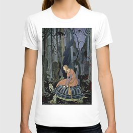 """The Black Tortoise"" by Virginia Frances Sterrett T-shirt"