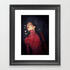 Cemetery In My Mind Framed Art Print