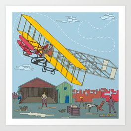 First Flight 1903 Art Print