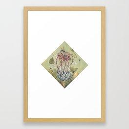One Dies, One Grows Framed Art Print