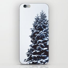 Snow Covered Trees iPhone Skin