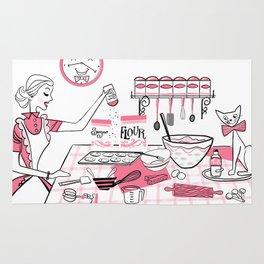 Baking Day Fun Rug
