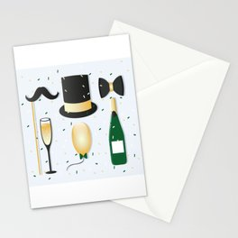 New Years Eve Party Stationery Cards