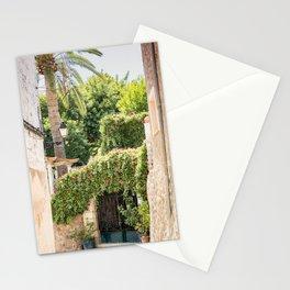 Lovely street scene in Valldemossa, Mallorca Stationery Cards