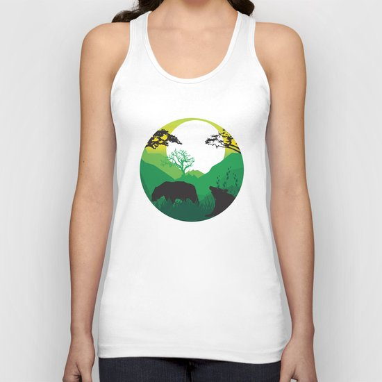 My Nature Collection No. 50 Unisex Tank Top