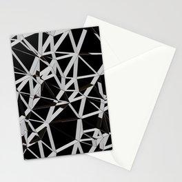 3D Futuristic GEO Lines V Stationery Cards