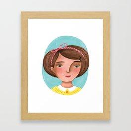 Sweet sadness Framed Art Print