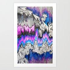 Paper Airplanes Art Print