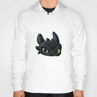 toothless Hoodies featuring Toothless by joysapphire