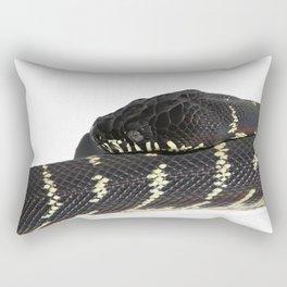 Boelen's Python, Draven. Rectangular Pillow