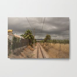 Spanish Railway Metal Print