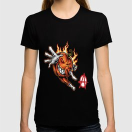 Halloween Havoc Foodietoon Pumpkin Anarchy T-shirt