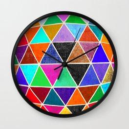 Geodesic 3 Wall Clock