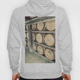 Kentucky Bourbon Barrels Color Photo Hoody