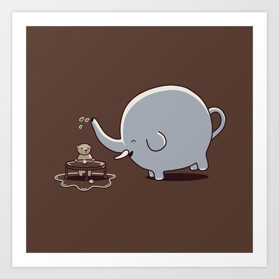 Want some tea? Art Print