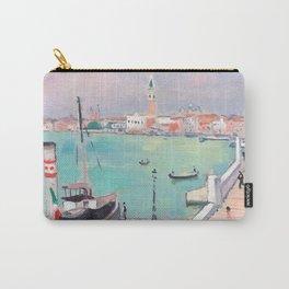 Albert Marquet - Venise, quai des Esclavons, le remorqueur à quai Carry-All Pouch